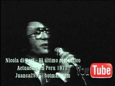 Nicola di Bari - El ultimo romantico (Peru 1971) En español