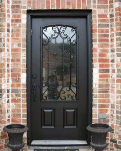 Fibergl Entry Door Gallery The Front Company Black Doors Wood