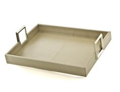 bone leather tray with metal handles || leather-trays-1-18.gif 1,468×1,122 pixels