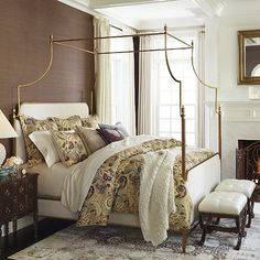 Discover more ways to relax with luxury bedding sets and bedding collections, offering the ultimate in designer style and comfort for your master bedroom or guestroom. Bedroom Furniture, Bedroom Decor, Bedroom Ideas, Outdoor Furniture, Glam Bedroom, Furniture Nyc, Furniture Stores, Cheap Furniture, Canopy Bedroom