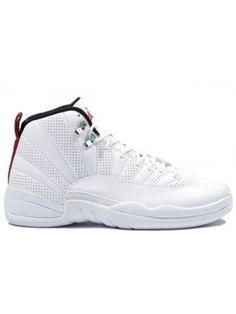 d65885ed692 130690 163 Nike Air Jordan 12 Retro Anniversary White   Red   Black First  Air Jordans
