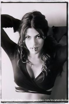 Eva Mendes --- She is not only a starlet, underrated. She should be in more films but I admire her! She is stunning.