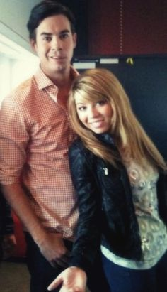 Jerry Trainor & Jennette McCurdy! :)-- yeah SPAM in real life!