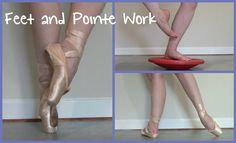 Feet & Pointe Work Strengthening Exercises--- really good video! Ballet Body, Ballet Feet, Dance It Out, Just Dance, Dance Stuff, Pilates, Ballet Barre Workout, Ballet Stretches, Foot Exercises