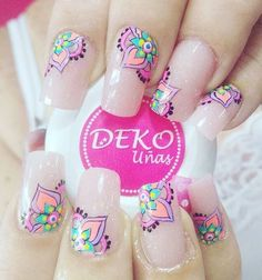 You searched for Manicura - BeautyTime Nail Art Designs, Elegant Nail Designs, Elegant Nails, Diy Nails, Glitter Nails, Mandala Nails, Manicure E Pedicure, Nail Decorations, Love Nails