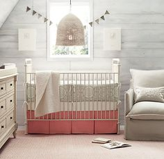 This room is ADORABLE!!  love | Restoration Hardware Baby & Child