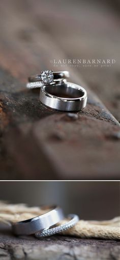 Lauren Barnard Photography #wedding #weddingrings #ringshot