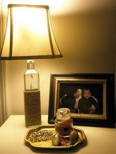 anthro inspired diy lamp