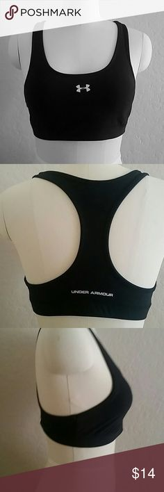 Size LG underarmor sport bra T-back and padded and has never been worn Under Armour Other