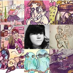 I just wanted to shout out my cousin and her amazing art.  She has her own comic and you definitely should go check her out @cactusmage