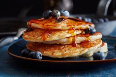 Oh boy, do I make a lot of pancakes. This recipe, which makes enough pancakes to feed four people, is one that I've honed over the years to where I think it's pretty perfect — and by perfect I mean …