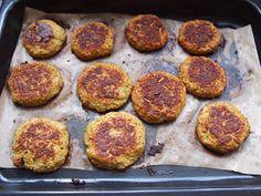 Jana´s food: Brokolicové karbanátky z trouby Griddle Pan, Vegetarian, Ethnic Recipes, Food, Diet, Grill Pan, Essen, Meals, Yemek
