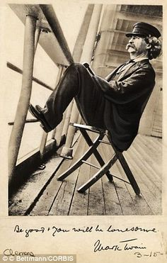 "Samuel Langhorne Clemens (Nov 30, 1835 – April 21, 1910), better known by his pen name Mark Twain, was an American author and humorist. He wrote The Adventures of Tom Sawyer (1876) and its sequel, Adventures of Huckleberry Finn (1885), the latter often called ""the Great American Novel."""