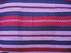 Pozahuancos fabric (wrapped skirts) made with the purpura shellfish dye. Very rare.