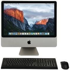 "Only $649.99 +FREE Shipping for the Apple 20 Refurbished Imac Desktop Computer (RA41272). Get $50.00 off the price with coupon code MDCMCAD50. Enter the code at checkout. FREE Shipping. Great value for this Apple 20 Imac Desktop Computer with 20"" Widescreen Display, 1680 X 1050 Native Resolution, 320gb Standard Hard Drive, 4gb Ram, 2.66ghz Processor Speed, Intel Core 2 Duo Processor, 1066mhz System Bus Speed, Pc2-6400 Ddr2 Ram, Radeon HD 2600 Pro Video Card, Gddr3 Vram, 8x Dl Superdrive…"