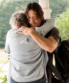and Daryl Dixon bearing his broken heart to the woman he loves