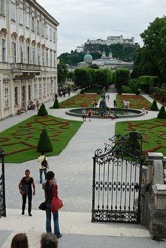 Mirabellgarten - Salzburg, Austria