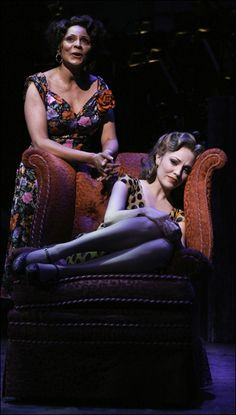 Encores! production of Rodgers and Hammerstein's Pipe Dream , 	Leslie Uggams and Laura Osnes.