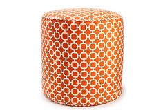 Hockley Outdoor Pouf, Org    $59.00