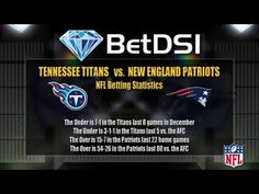 Tennessee Titans vs New England Patriots Odds | NFL Picks