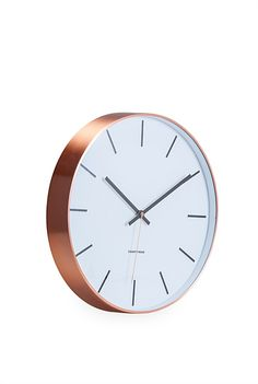 Shop homeware and outdoor essentials for your bedroom, bathroom, kitchen and living space online and have it delivered to your door. Kitchen Clocks, Home Decor Online, Large Clock, Moving Out, The Chic, Home Accessories, Copper, Vase, Modern