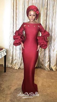 Different Types of Aso Ebi Styles 2019 for admirable women accept never looked this sunning and exotic, these aso ebi styles African Wedding Attire, African Attire, African Wear, African Dress, African Print Fashion, Africa Fashion, African Fashion Dresses, Aso Ebi Lace Styles, Latest Aso Ebi Styles
