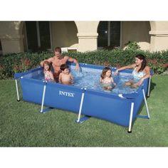 INTEX Familie Pool 58981, Rechteck-Pool FAMILY 300x200x75cm
