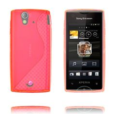 S-Line (Pink) Sony Ericsson Xperia Ray Cover