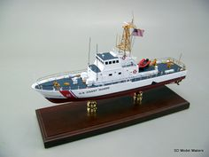 "24"" US Coast Guard USCGC NANTUCKET (WPB-1316) Model SD Model Makers can build a replica model of ANY US Coast Guard vessel in ANY size or scale desired, from ANY service period. Contact us to commission your model today."