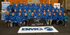 British Mountain Guides showing some Arc'love at the IFMGA Climbing Competition.