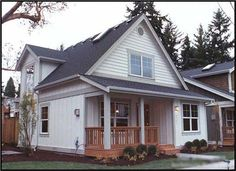 This beatiful houseplan gives you easy access from the kitchen to the dining room and into the living room.  It also offers a nice covered porch to sit outside and enjoy the outdoors on.  1000 SF 2 BR 2 BA