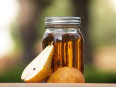 A homemade pear liqueur made with brandy gives you the sweetness of a fruit liqueur and the dryness of brandy in one ingredient. This pear liqueur hits the \