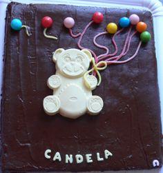 brownie de cumpleaños