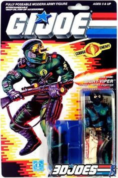 Vintage GI Joe Figure Parts YO JOE! Add to and equip your Gi Joe and Cobra army with figures, vehicles and parts from GI Joe Junkyard!