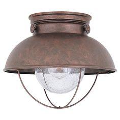 Sea Gull Lighting 8869 Weathered Copper