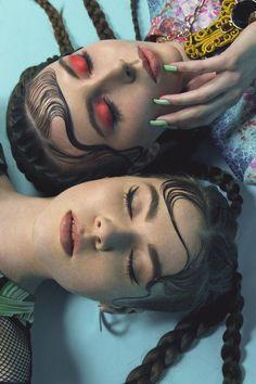 "Grunge Editorials Lusha Alic ""Papi Pacify"" editorial by Lusha Alic C-Heads""Papi Pacify"" editorial by Lusha Alic C-Heads Editorial Hair, Beauty Editorial, Editorial Fashion, Make Up Looks, Beauty Makeup, Hair Makeup, Hair Beauty, Beauty Style, Beauty Ad"