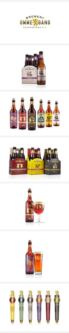 Great Beer Brand from Duffy Design #branding #beer #duffydesign #packaging
