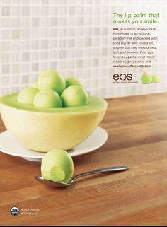 Advertising Campaign : How cute are these EOS Ads! Advertising Campaign Inspiration How cute are these EOS Ads! Advertisement Description How cute are these EOS Ads! Sharing is caring ! Eos Flavors, Eos Balm, Eos Chapstick, Eos Products, Beauty Products, Best Lip Balm, Baby Lips, Lip Care, Jojoba Oil