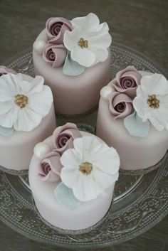 368 Best Bridal Shower Mini Cakes Images In 2019 Birthday Cakes
