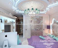 Дизайн-проект интерьера квартиры в стиле Ар-Деко в ЖК Виноградный - фото