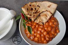 Gluténmentes vega és vegán ebédötlet: Indiai Csicseriborsó masala…