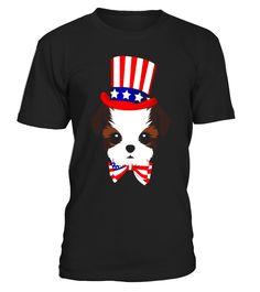 Happy Fourth Of July Shih Tzu Dog T-Shirt