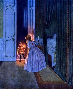 "Illustration by Artuš Scheiner from E.T.A. Hoffmann's ""The Nutcracker and the Mouse King"", 1924"