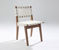 Risom Side Chair - White Cord  from Designers Revolt. Original quality designer classics at a fraction of the high street price. Join the Designers Revolt!