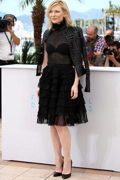 Cate Blanchett in Alexander McQueen beim Filmfest in Cannes