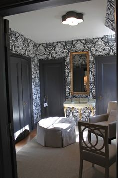 Her dressing room, Designer Robert Brown, Adamsleigh Show House