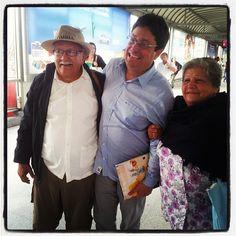 @PachoSantosC Si nuestros mayores sonríen, es porque aun hay esperanza y por ellos vamos a retomar el rumbo.