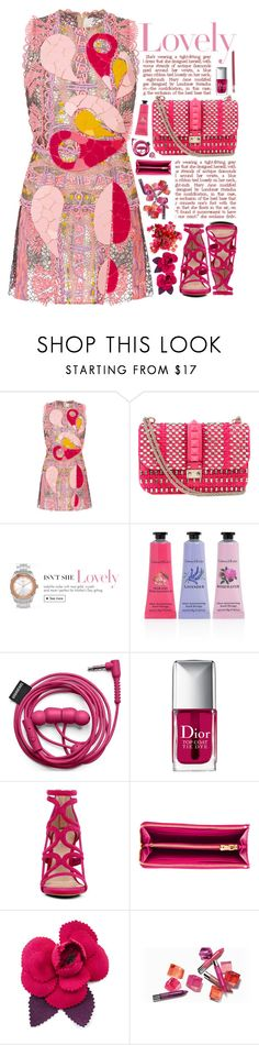 """""""2082 // P s e u d o l a u e i t e"""" by arierrefatir ❤ liked on Polyvore featuring Peter Pilotto, Valentino, Crabtree & Evelyn, Christian Dior, ALDO, Miu Miu, Chanel and Crate and Barrel"""