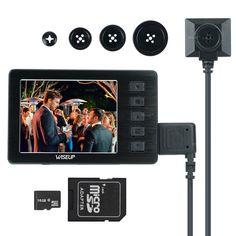 1080p Lawmate Long Battery Power TV Remote DVR Hidden Spy Nanny Camera Audio