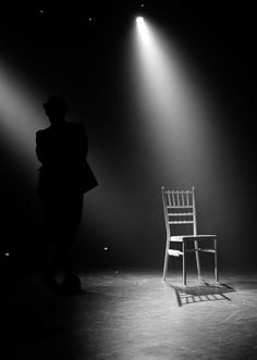 For this lighting have it isolate on the fool when he is in the cell. Also have an isolating light for the punch would add to a great effect. Chair Photography, Nature Photography, Stage Spotlights, Stage Lighting Design, Drawing Furniture, Bride Of Christ, White Aesthetic, Cabaret, Museums
